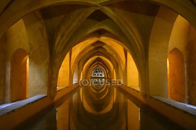 Royal Palace; Seville, Seville Province, Spain — Stock Photo