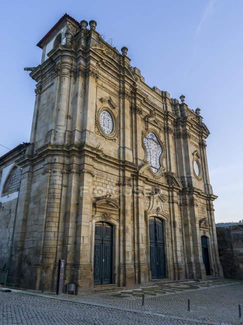 Scenic view of Monastery of Santa Maria de Salzedas; Portugal — Stock Photo