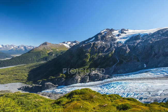 Scenic view of majestic landscape of Kenai Fjords National Park, Alaska, United States of America — Stock Photo