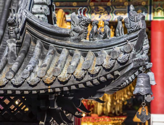 Богиня храму милосердя (Міжнародний буддійський храм); Річмонд (Британська Колумбія, Канада). — стокове фото