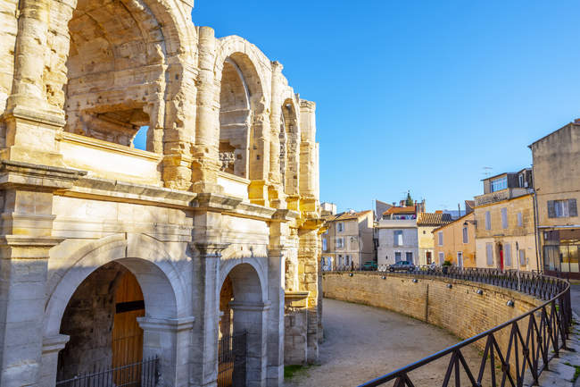 Amphithéâtre d'Arles ; Provence Alpes Cote dazur, France — Photo de stock