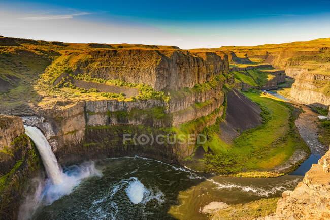 Palouse Falls ; Washington, États-Unis d'Amérique — Photo de stock