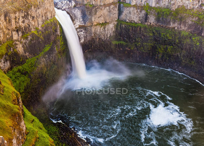 Palouse Falls, Washington, États-Unis d'Amérique — Photo de stock