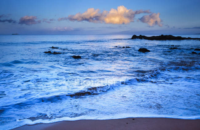 Kamaole One and Two beaches, Kamaole Beach Park; Kihei, Maui, Hawaii, United States of America — стоковое фото