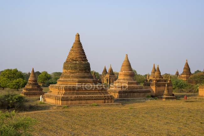 Buddhist temple; Bagan, Mandalay Region, Myanmar — Stock Photo