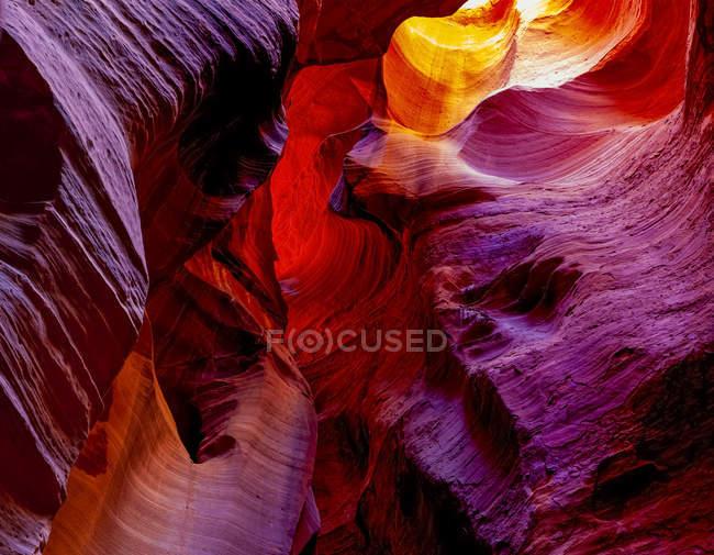 Scenic view of Canyon X; Page, Arizona, Estados Unidos da América — Fotografia de Stock