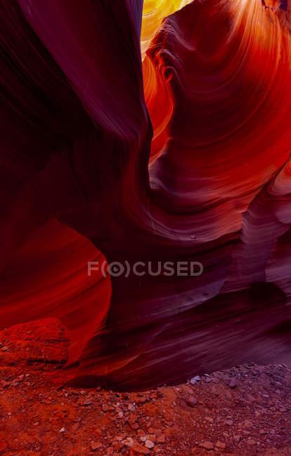 Scenic view of Rattlesnake Canyon; Page, Arizona, Estados Unidos da América — Fotografia de Stock