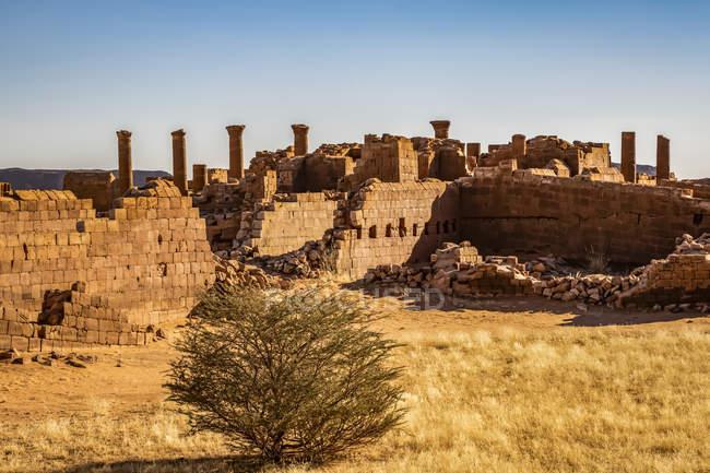 Большая территория Мусавварат-эс-Суфра; Северный штат, Судан — стоковое фото