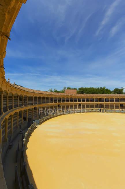 Bull fighting ring; Ronda, Malaga Province, Spain — Foto stock