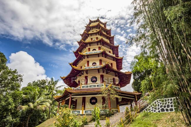 Vihara Buddha Jayanti; Sorong, West Papua, Indonesia — Stock Photo