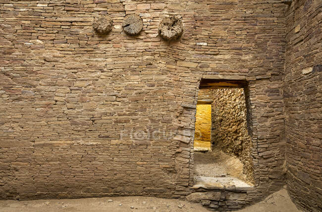 Chaco Culture National Historical Park; San Juan County, New Mexico, United States of America — Stock Photo