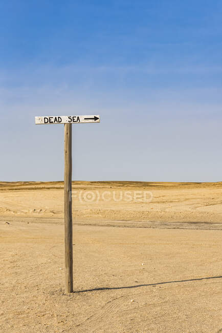 Mar Muerto, Costa Esqueleto, Parque Nacional Dorob; Namibia - foto de stock