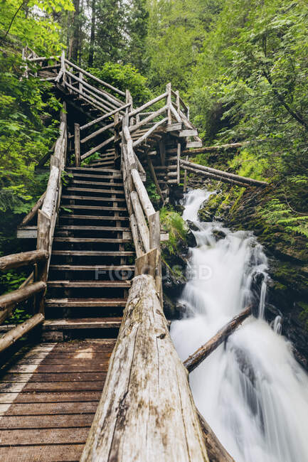 Водопад в Каньоне Порт-де-л