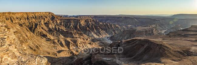 Каньон реки Фиш; Намибия — стоковое фото