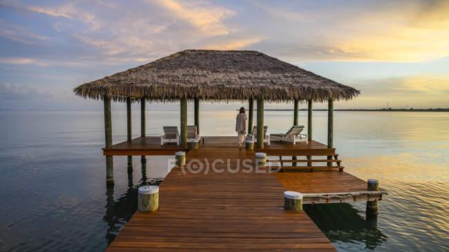 Naia Resort and Spa, penisola di Placencia; Belize — Foto stock