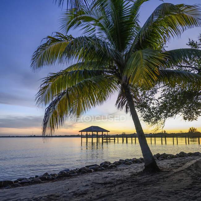 Naia Resort und Spa, Placencia Peninsula; Belize — Stockfoto