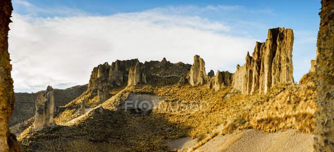 Долина душ; Ла-Пас, Педро Доминго Мурильо, Боливия — стоковое фото