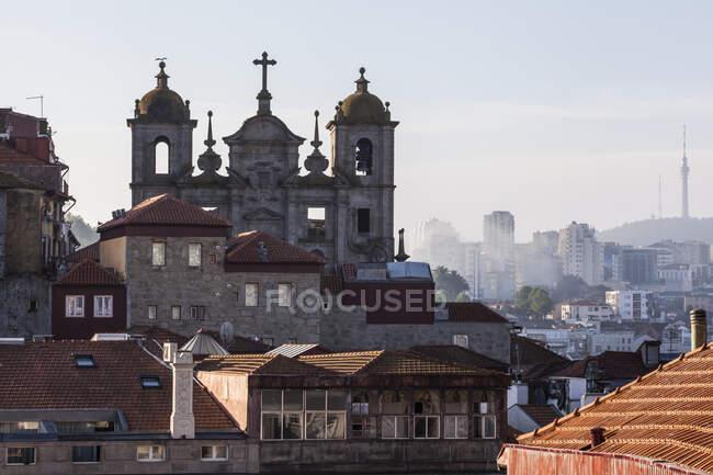 Stadtbild von Porto am Morgen; Porto, Portugal — Stockfoto
