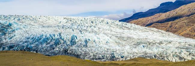 Hoffellsjokull glacier, Vatnajokull National Park; Hornafjordur, Eastern Region, Iceland — Stock Photo