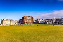 UK, Fife, en Écosse, Royal and Ancient Golf Club de St Andrews — Photo de stock