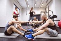Athleten, die Pause — Stockfoto