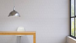 Room with lamp and chair — Stock Photo