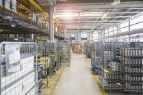 Fabrik-Shop-floor — Stockfoto
