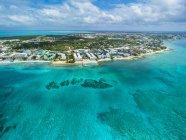 Resort di lusso e Seven Mile Beach — Foto stock