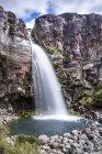 Nouvelle-Zélande, district de Ruapehu, parc national des Tongariro, chutes Taranaki — Photo de stock