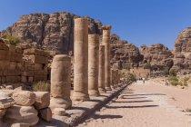 Porta di Temenos, Petra — Foto stock