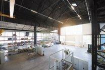 Factory shop floor — Stock Photo