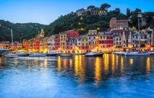 Boats in harbour, Portofino — Stock Photo