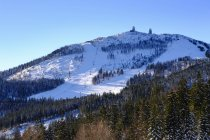 Grand domaine skiable de Arber — Photo de stock