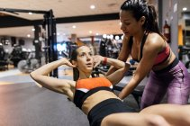 Active women working out — Stock Photo