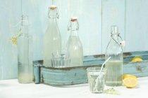 Sirop de sureau maison — Photo de stock