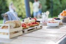 Spuntini leggeri estivi — Foto stock
