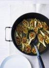 Artichauts farcis au pan — Photo de stock