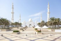 UAE, Abu Dhabi, Sheikh Zayed Mosque — Stock Photo