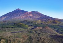 Pico del Teide und Pico Viejo — стоковое фото
