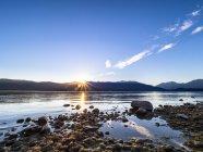 Озеро Те-Анау в Национальном парке Фиордленд — стоковое фото