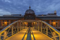 Fish market hall, Hamburg — Stock Photo