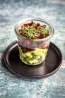 Copa de ensalada de aguacate DIAMIR - foto de stock