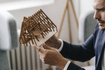 Архитектурная модель — стоковое фото
