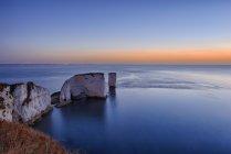 Великобританії, Dorset, юрського узбережжя острова вашим друзям, старі Гаррі порід — стокове фото