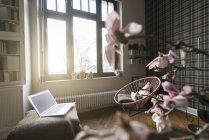 Интерьер гостиной — стоковое фото