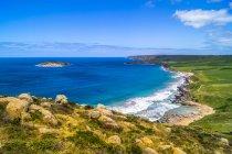 Australien, Вікторія, вид на узбережжя з великій океанській дорозі — стокове фото