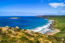Australiano, Victoria, vista sulla costa da Great Ocean Road — Foto stock