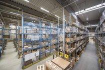 High rack warehouse — Stock Photo