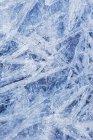 Superficie dell'acqua congelata — Foto stock