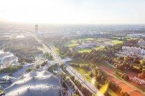 Das olympische gelände, münchen — Stockfoto